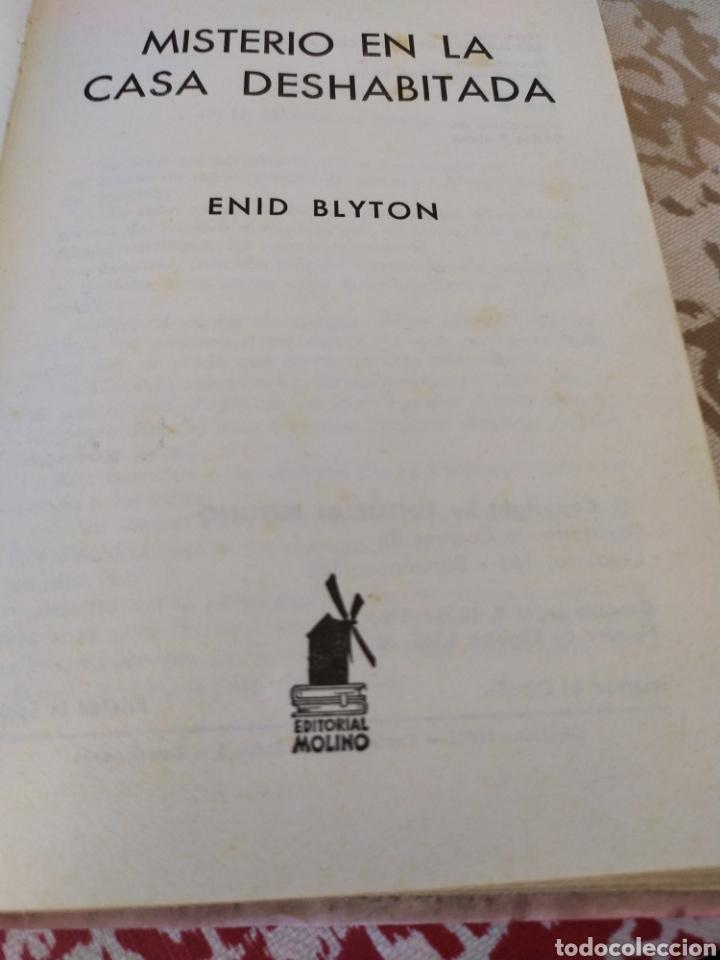 Libros de segunda mano: Misterio en la casa desabitada - Foto 3 - 195379146