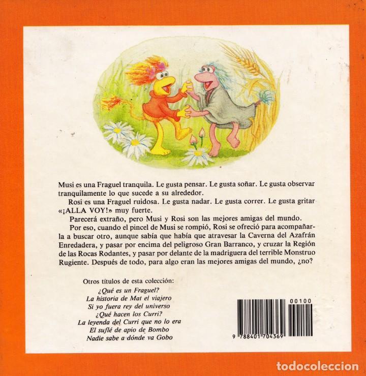 Libros de segunda mano: FRAGUEL ROCK. LAS MEJORES AMIGAS DEL MUNDO. JIM HENSON. J. STEVENSON – S. VENNING - Foto 2 - 195384986