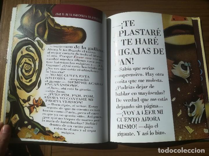 Libros de segunda mano: EL APESTOSO HOMBRE QUESO Y OTROS CUENTOS MARAVILLOSAMENTE ESTUPIDOS THULE EDICIONES 2004 - Foto 6 - 195386067
