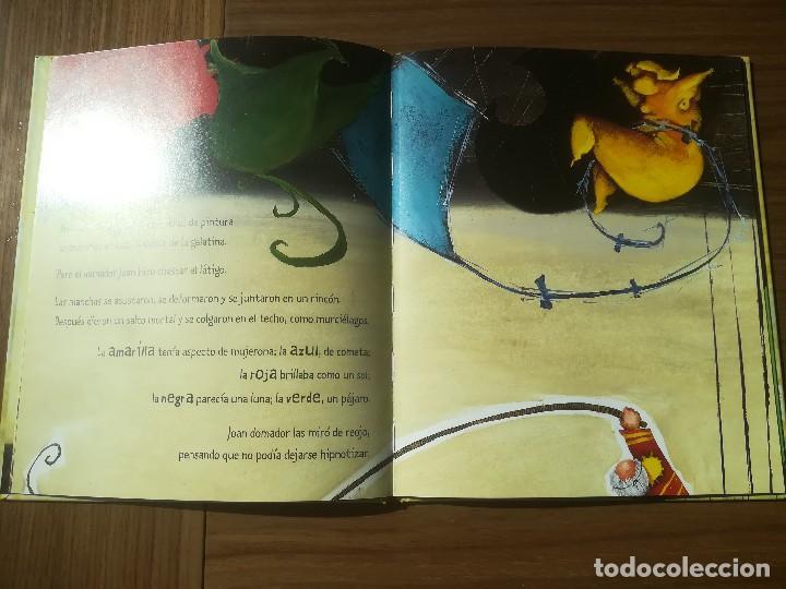 Libros de segunda mano: EL CUADRO MAS BONITO DEL MUNDO MIQUEL OBIOLS / ROGER OLMOS EDITORIAL KALANDRAKA 2001 - Foto 2 - 195386846
