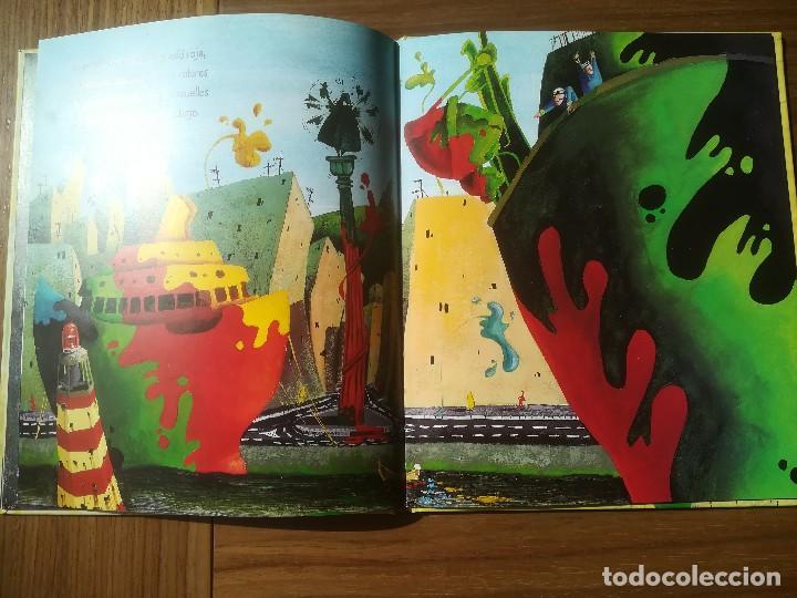 Libros de segunda mano: EL CUADRO MAS BONITO DEL MUNDO MIQUEL OBIOLS / ROGER OLMOS EDITORIAL KALANDRAKA 2001 - Foto 3 - 195386846
