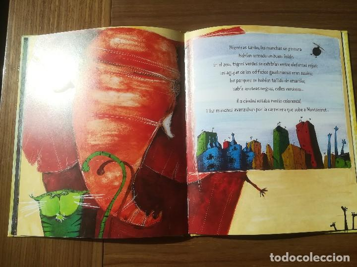 Libros de segunda mano: EL CUADRO MAS BONITO DEL MUNDO MIQUEL OBIOLS / ROGER OLMOS EDITORIAL KALANDRAKA 2001 - Foto 4 - 195386846