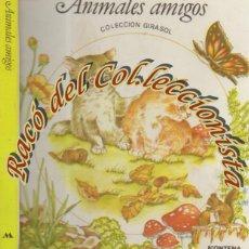 Libros de segunda mano: ANIMALES AMIGOS, POP UP, LIBRO MOVIL, LARRY SHAPIRO, ILUSTR. CARROL ANDRUS, MONTENA, GIRASOL, 1980. Lote 195387927