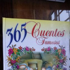 Libros de segunda mano: 365 CUENTOS FAMOSOS. SERVILIBRO. 1994. CARTONÉ. PÁGINAS 270. PESO 960 GR.. Lote 195403723