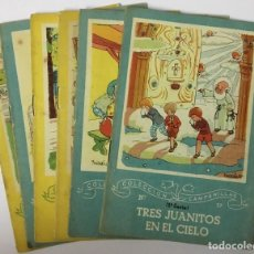 Libros de segunda mano: LOTE 6 CUENTOS COLECCIÓN CAMPANILLAS - 3ª SERIE - EDITORIAL ROMA. Lote 195467848