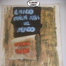 Libros de segunda mano: EL MUNDO EMPIEZA FUERA DEL MUNDO, CARMEN CONDE, EDITORIAL ESCUELA ESPAÑOLA AÑO 1979, B6. Lote 195479260
