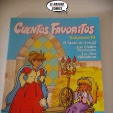 Libros de segunda mano: CUENTOS FAVORITOS VOLUMEN Nº 13, JORDI BUSQUET, LOS HERMANOS GRIMM, ED INTEREDICIONES AÑO 1983, A7. Lote 195486577