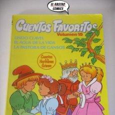 Libros de segunda mano: CUENTOS FAVORITOS VOLUMEN Nº 15, JORDI BUSQUET, LOS HERMANOS GRIMM, ED INTEREDICIONES AÑO 1983, A7. Lote 195486872
