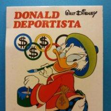 Libros de segunda mano: DONALD DEPORTISTA. WALT DISNEY. EDICIONES SUSAETA S.A.. Lote 195490867