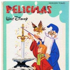 Libros de segunda mano: PELICULAS WALT DISNEY TERCER TOMO AÑO 1965. Lote 195561891