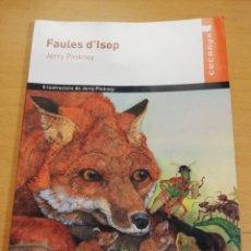 Libros de segunda mano: FAULES D'ISOP (JERRY PINKNEY). Lote 196175121
