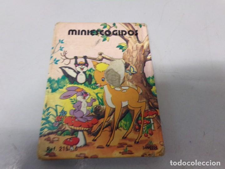 Libros de segunda mano: BAMBI TAPA DURA MINI CUENTO - Foto 2 - 196523325