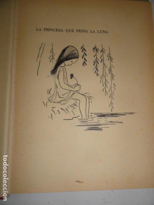 Libros de segunda mano: LA PRINCESA QUE PEDIA LA LUNA - ELEANOR FARJEON, 1960 - PRIMERA EDICIÓN - Foto 3 - 196143767