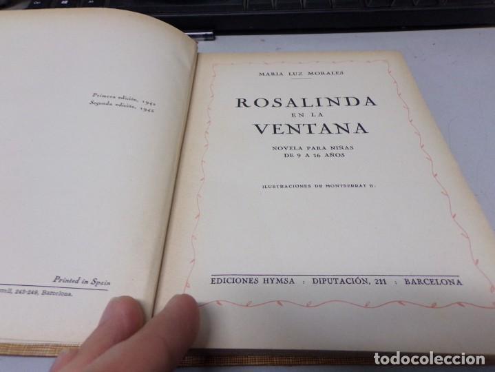 Libros de segunda mano: Rosalinda en la ventana - Foto 2 - 196844341