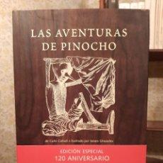 Libros de segunda mano: CLAUDIO COLLODI - LAS AVENTURAS DE PINOCHO; EDITORIAL JUVENTUD, 2003. Lote 196938282