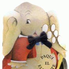 Libros de segunda mano: PAQUI EL ELEFANTE CUENTO TROQUELADO . Lote 197027596