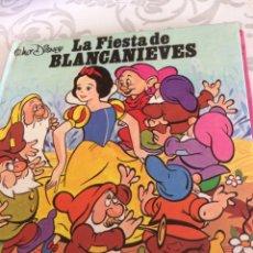 Libros de segunda mano: LA FIESTA DE BLANCANIEVES. Lote 197068590