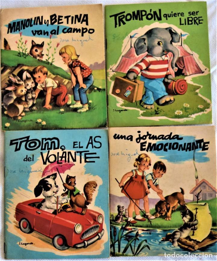 LOTE CUATRO CUENTOS - COLECCIÓN BERNIA - EDICIONES GAISA - TAPA BLANDA (Libros de Segunda Mano - Literatura Infantil y Juvenil - Cuentos)