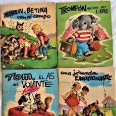 Libros de segunda mano: LOTE CUATRO CUENTOS - COLECCIÓN BERNIA - EDICIONES GAISA - TAPA BLANDA. Lote 197172037
