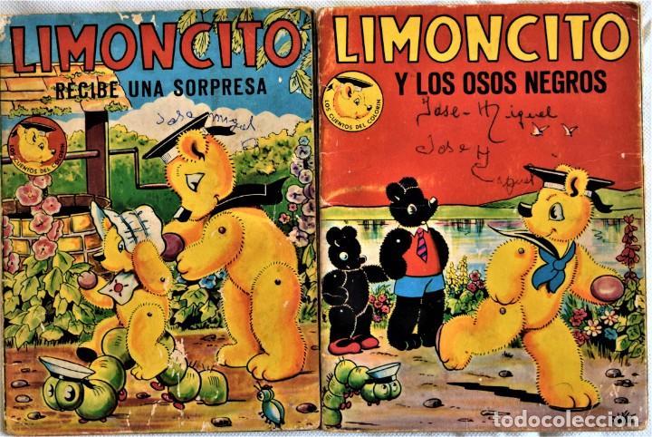 LOTE DOS CUENTOS - LIMONCITO Nº 6 Y 8 - EDITORIAL TIMUN MAS - LOS CUENTOS COLORIN (Libros de Segunda Mano - Literatura Infantil y Juvenil - Cuentos)