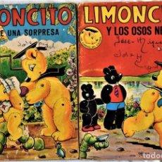 Libros de segunda mano: LOTE DOS CUENTOS - LIMONCITO Nº 6 Y 8 - EDITORIAL TIMUN MAS - LOS CUENTOS COLORIN. Lote 197173713