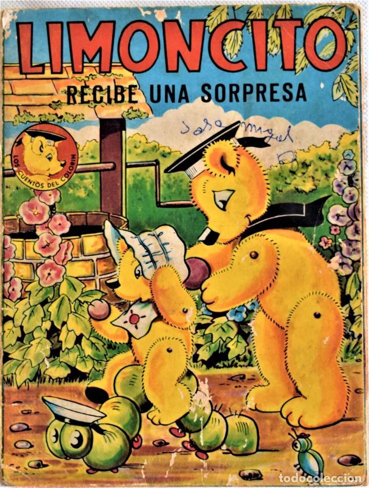 Libros de segunda mano: LOTE DOS CUENTOS - LIMONCITO Nº 6 Y 8 - EDITORIAL TIMUN MAS - LOS CUENTOS COLORIN - Foto 4 - 197173713