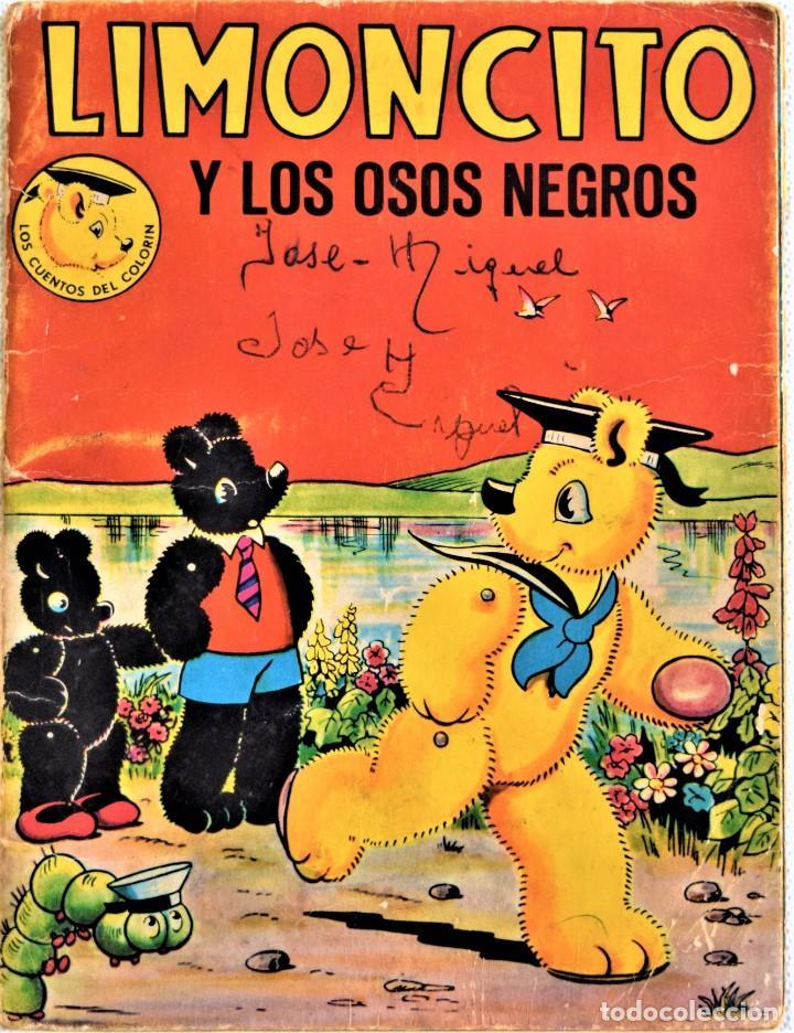 Libros de segunda mano: LOTE DOS CUENTOS - LIMONCITO Nº 6 Y 8 - EDITORIAL TIMUN MAS - LOS CUENTOS COLORIN - Foto 5 - 197173713