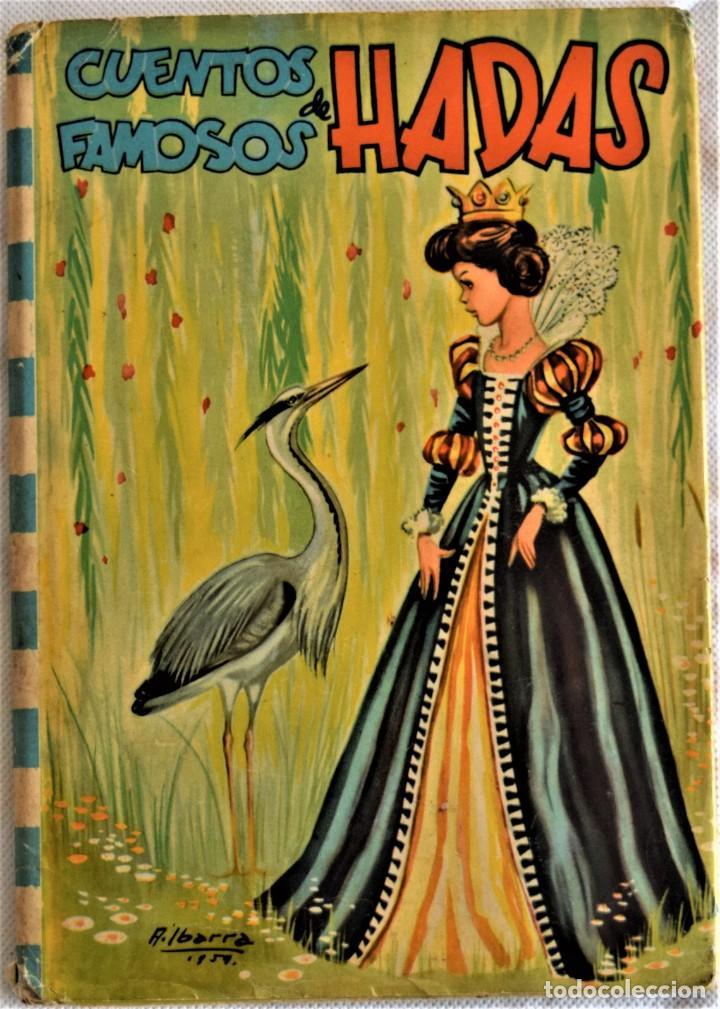 CUENTOS FAMOSOS DE HADAS Nº 2 - EDITORIAL FELICIDAD - TAPA DURA (Libros de Segunda Mano - Literatura Infantil y Juvenil - Cuentos)