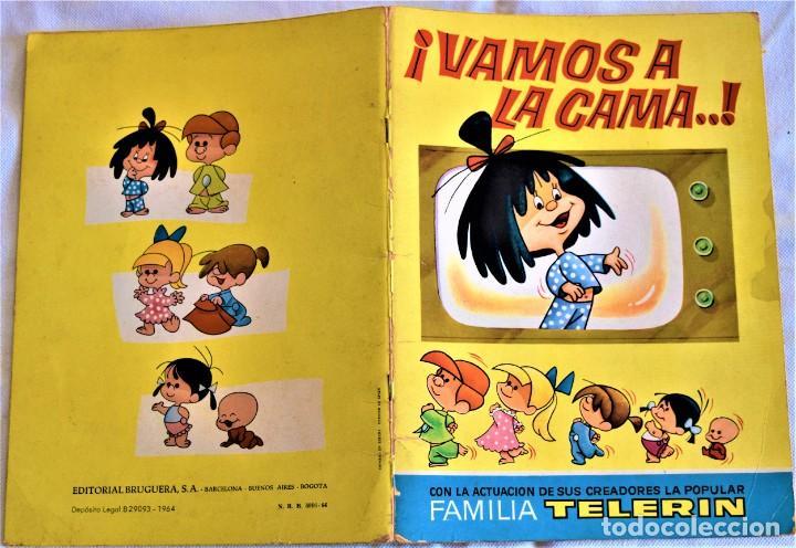Libros de segunda mano: ¡VAMOS A LA CAMA! - EDITORIAL BRUGUERA - LA FAMILIA TELERIN - TAPA BLANDA - Foto 2 - 197181728