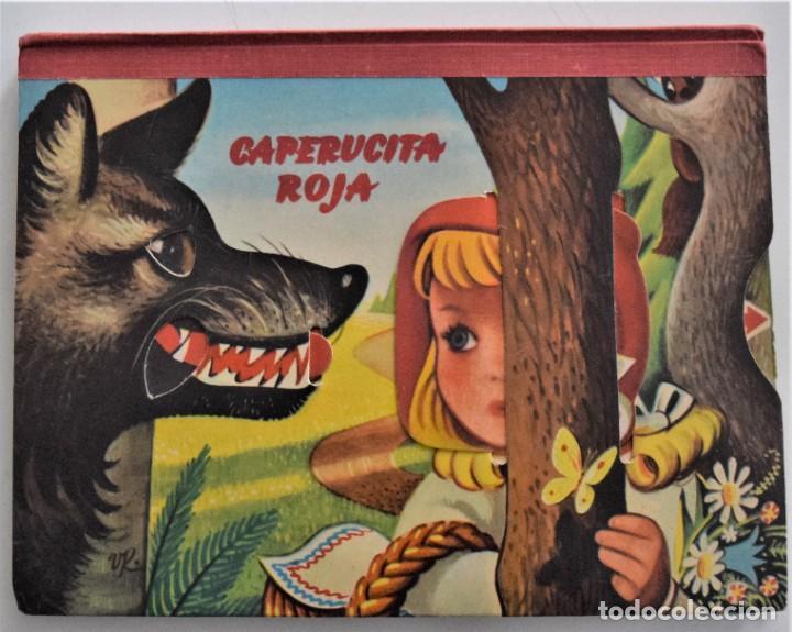 CAPERUCITA ROJA - PRECIOSO CUENTO CON DIORAMAS Y MOVILES - BANCROFT & CO. AÑO 1967 (Libros de Segunda Mano - Literatura Infantil y Juvenil - Cuentos)