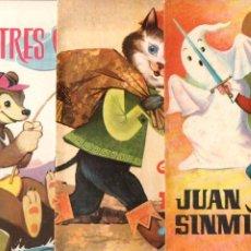 Libros de segunda mano: JUAN SIN MIEDO - GATO CON BOTAS -LOS TRES OSOS (ESTRELLA COLOR FERMA, 1964). Lote 197510606