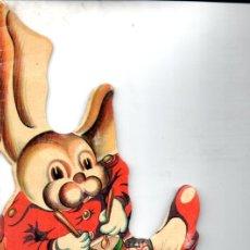 Libros de segunda mano: GUIMERÁ : EL CONEJITO DEL TAMBOR (COLECCIÓN REYES CERVANTES) TROQUELADO. Lote 197553347