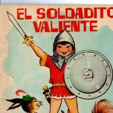 Libros de segunda mano: MARÍA PASCUAL : EL SOLDADITO VALIENTE (CUENTOS AZULES TORAY Nº 18, 1964) . Lote 197602262