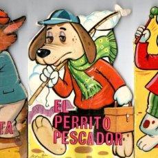 Libros de segunda mano: AYNÉ : EL TAMBOR -PERRITO PESCADOR - ZORRO PERIODISTA (PEQUEÑO ZOO TROQUELADO TORAY, 1968). Lote 197602891