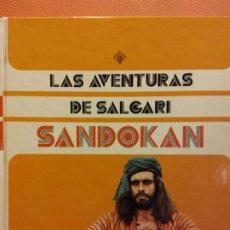 Libri di seconda mano: LAS AVENTURAS DE SALGARI. SANDOKAN. EDICIONES VULCANO. Lote 197736448