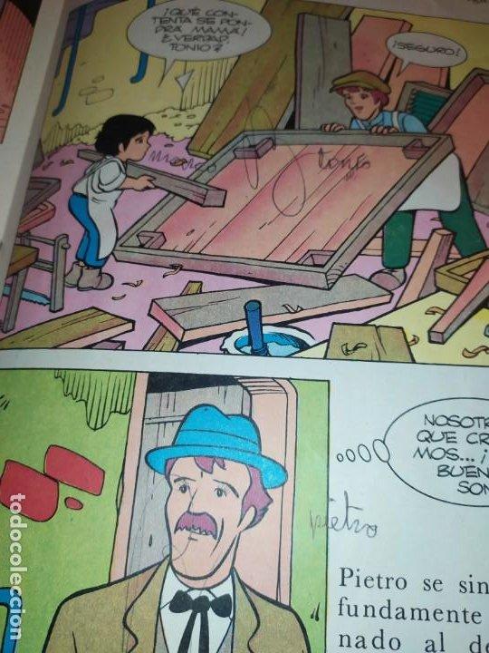 Libros de segunda mano: LAS EMOCIONANTES AVENTURAS DE MARCO N° 11 LA SORPRESA MIRE FOTOGRAFÍAS - Foto 4 - 198378917
