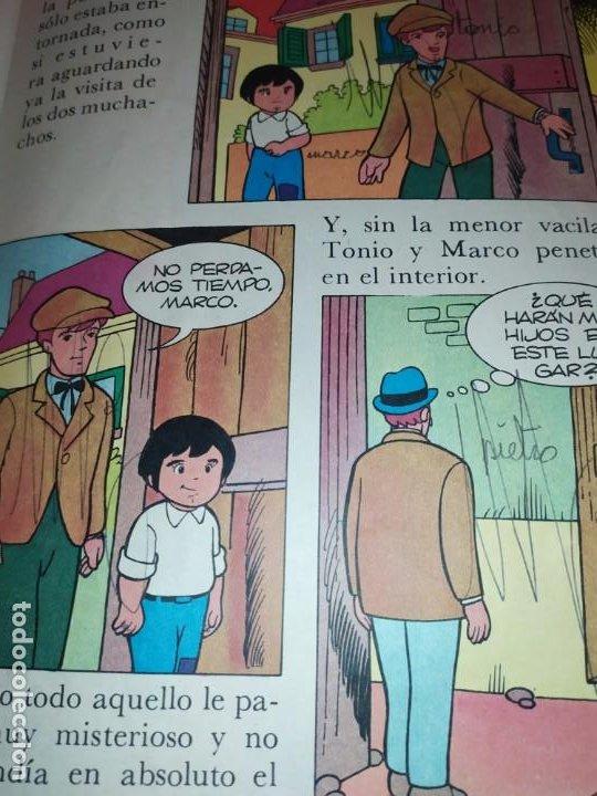 Libros de segunda mano: LAS EMOCIONANTES AVENTURAS DE MARCO N° 11 LA SORPRESA MIRE FOTOGRAFÍAS - Foto 7 - 198378917