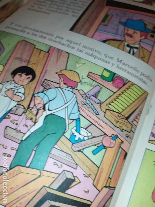 Libros de segunda mano: LAS EMOCIONANTES AVENTURAS DE MARCO N° 11 LA SORPRESA MIRE FOTOGRAFÍAS - Foto 9 - 198378917