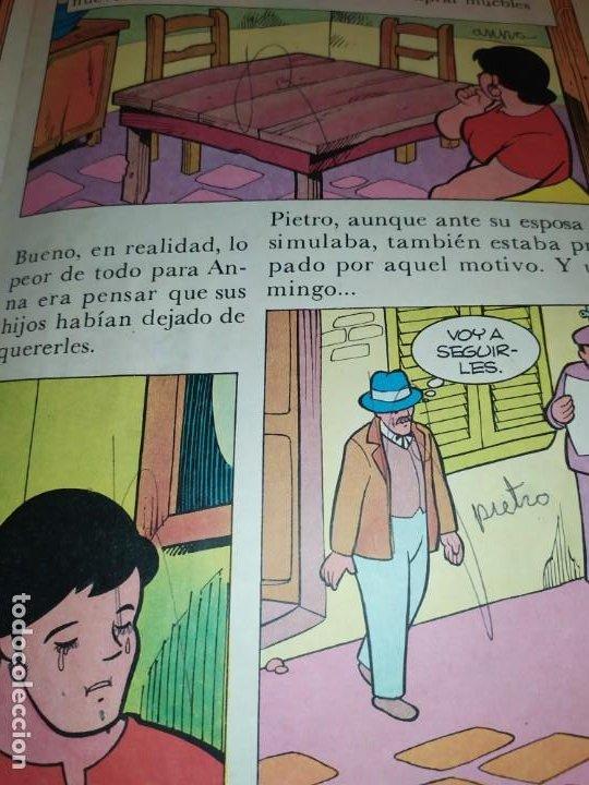 Libros de segunda mano: LAS EMOCIONANTES AVENTURAS DE MARCO N° 11 LA SORPRESA MIRE FOTOGRAFÍAS - Foto 10 - 198378917