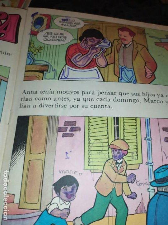 Libros de segunda mano: LAS EMOCIONANTES AVENTURAS DE MARCO N° 11 LA SORPRESA MIRE FOTOGRAFÍAS - Foto 17 - 198378917