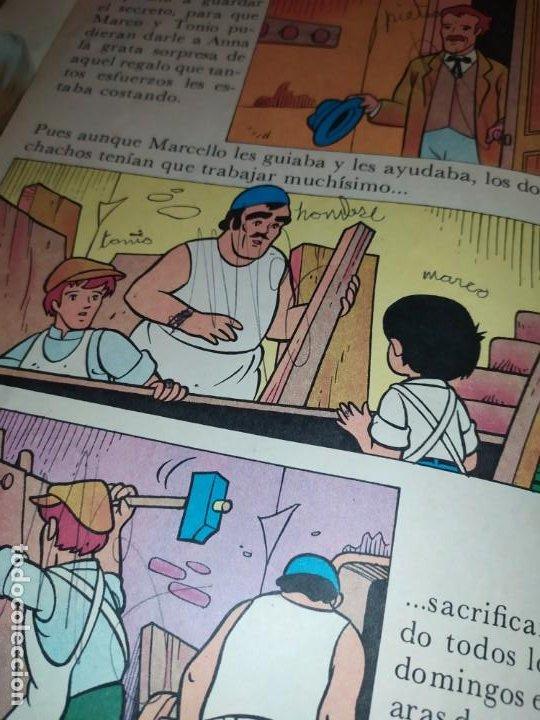 Libros de segunda mano: LAS EMOCIONANTES AVENTURAS DE MARCO N° 11 LA SORPRESA MIRE FOTOGRAFÍAS - Foto 19 - 198378917