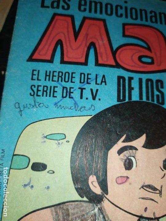Libros de segunda mano: LAS EMOCIONANTES AVENTURAS DE MARCO N° 11 LA SORPRESA MIRE FOTOGRAFÍAS - Foto 20 - 198378917