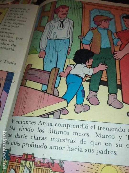 Libros de segunda mano: LAS EMOCIONANTES AVENTURAS DE MARCO N° 11 LA SORPRESA MIRE FOTOGRAFÍAS - Foto 21 - 198378917