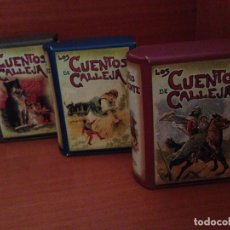 Libros de segunda mano: TRES ESTUCHES DE CALLEJA,CON 12 CUENTOS,CADA UNO.CUENTOS POPULARES-ORIENTE Y DE ANIMALES.. Lote 198856675