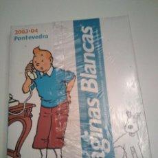 Libros de segunda mano: GUIA DE TELEFONOS AÑO 2003-2004 TINTIN. Lote 198860080