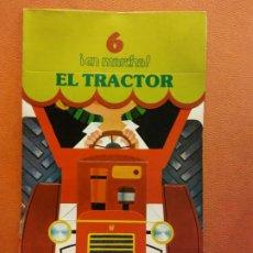 Livres d'occasion: EL TRACTOR. CUENTOS PARA APRENDER Y JUGAR. FIGURAS TROQUELADAS. NIKOLAS. RAMA EDITORIAL. Lote 199108960