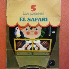 Livres d'occasion: EL SAFARI. CUENTOS PARA APRENDER Y JUGAR. FIGURAS TROQUELADAS. NIKOLAS. RAMA EDITORIAL. Lote 199109191