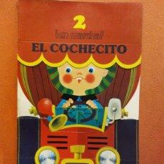 Livres d'occasion: EL COCHECITO. CUENTOS PARA APRENDER Y JUGAR. FIGURAS TROQUELADAS. NIKOLAS. RAMA EDITORIAL. Lote 199110245