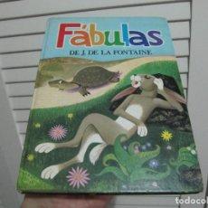 Libros de segunda mano: DE J. DE LA FONTAINE. FÁBULAS. Lote 199239485