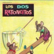 Libros de segunda mano: LOS DOS RATONCITOS - Nº 16 - EDT. VASCO AMERICANA, 1962.. Lote 199265763
